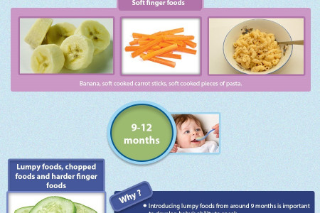 Baby Weaning Tips Infographic