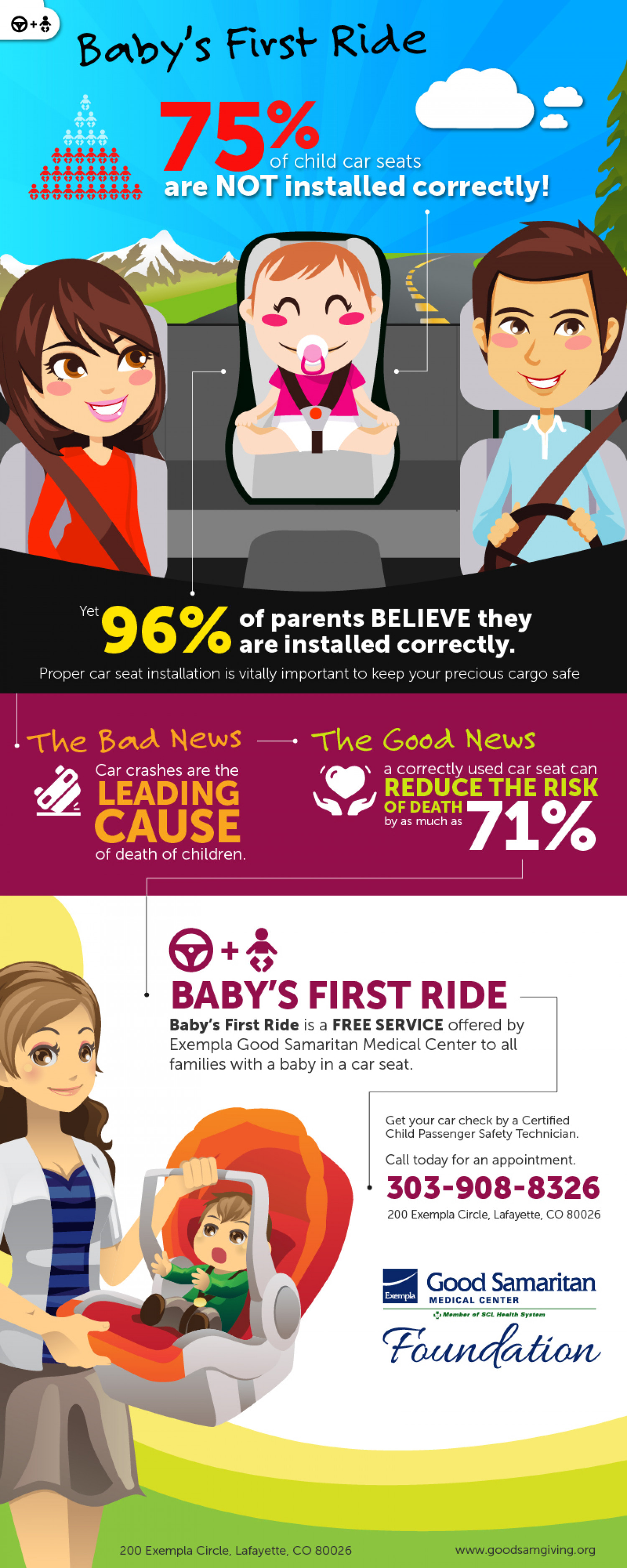 Baby's First Ride Infographic