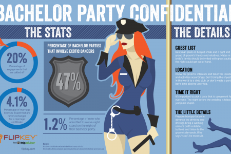 Bachelor Party Confidential Infographic