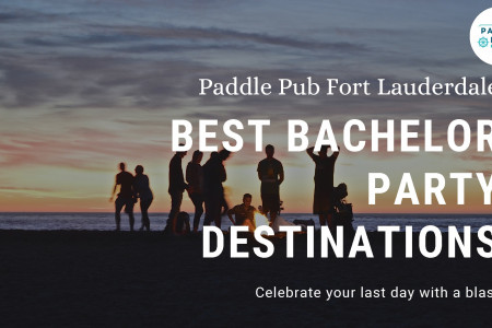 Bachelor party options in Fort Lauderdale Infographic
