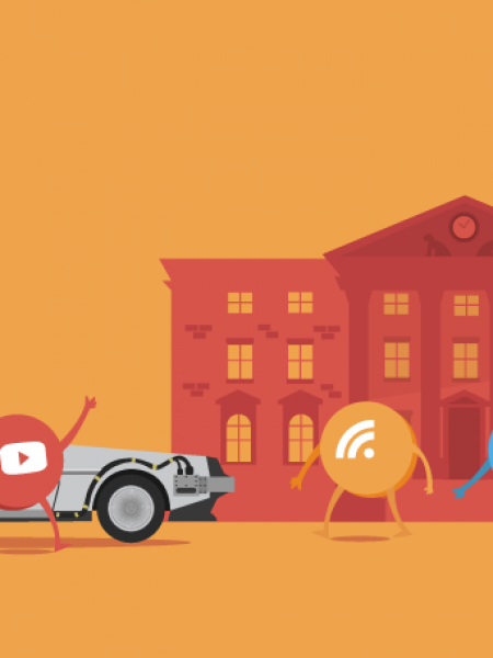 Back to the Future: Content Marketing Edition Infographic