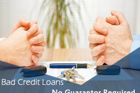 Bad Credit Loans with No Guarantor Option Infographic