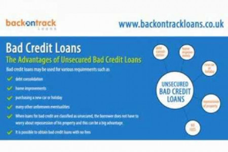 Ways to Get a Loan with Bad Credit Infographic