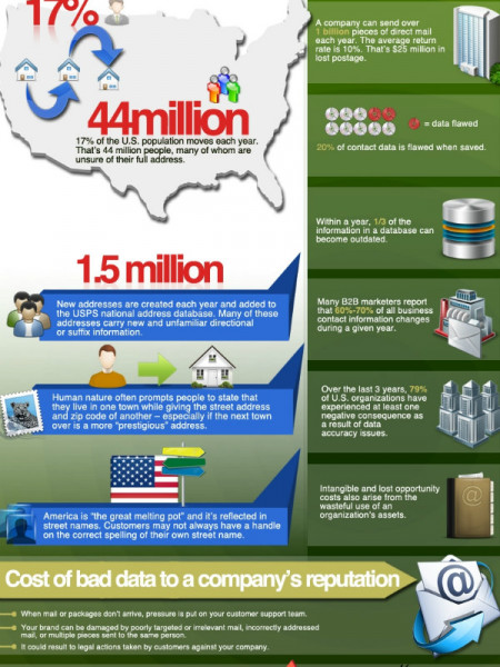 Bad Customer Data Costs You Millions Infographic