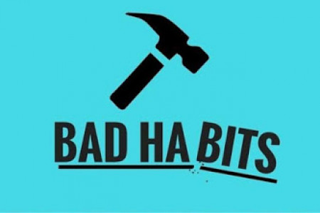 BAD HABITS ARE ENEMY  Infographic
