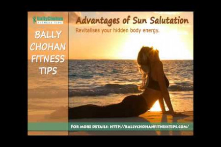 Bally Chohan Fitness Tips - Sun Salutation Infographic