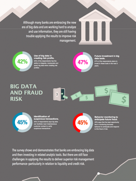 Banks & Big Data Infographic