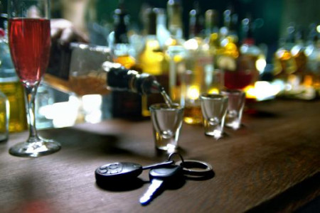Bar - drunk driving Infographic