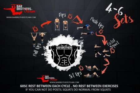 Bar Brothers Workout Plan Infographic