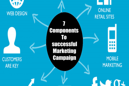 Basic Key Components to develop a successful Marketing Campaign Infographic