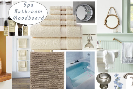 Bathroom Moodboard Infographic