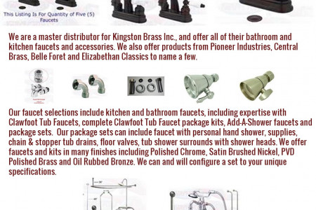 Bathroom Sink Faucets Infographic