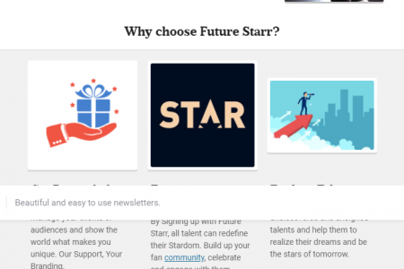 Be a Future Starr in 2020. Infographic