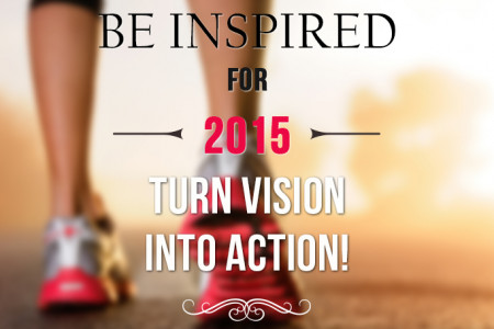 Be Inspired for 2015- Turn Vision into Action! Infographic