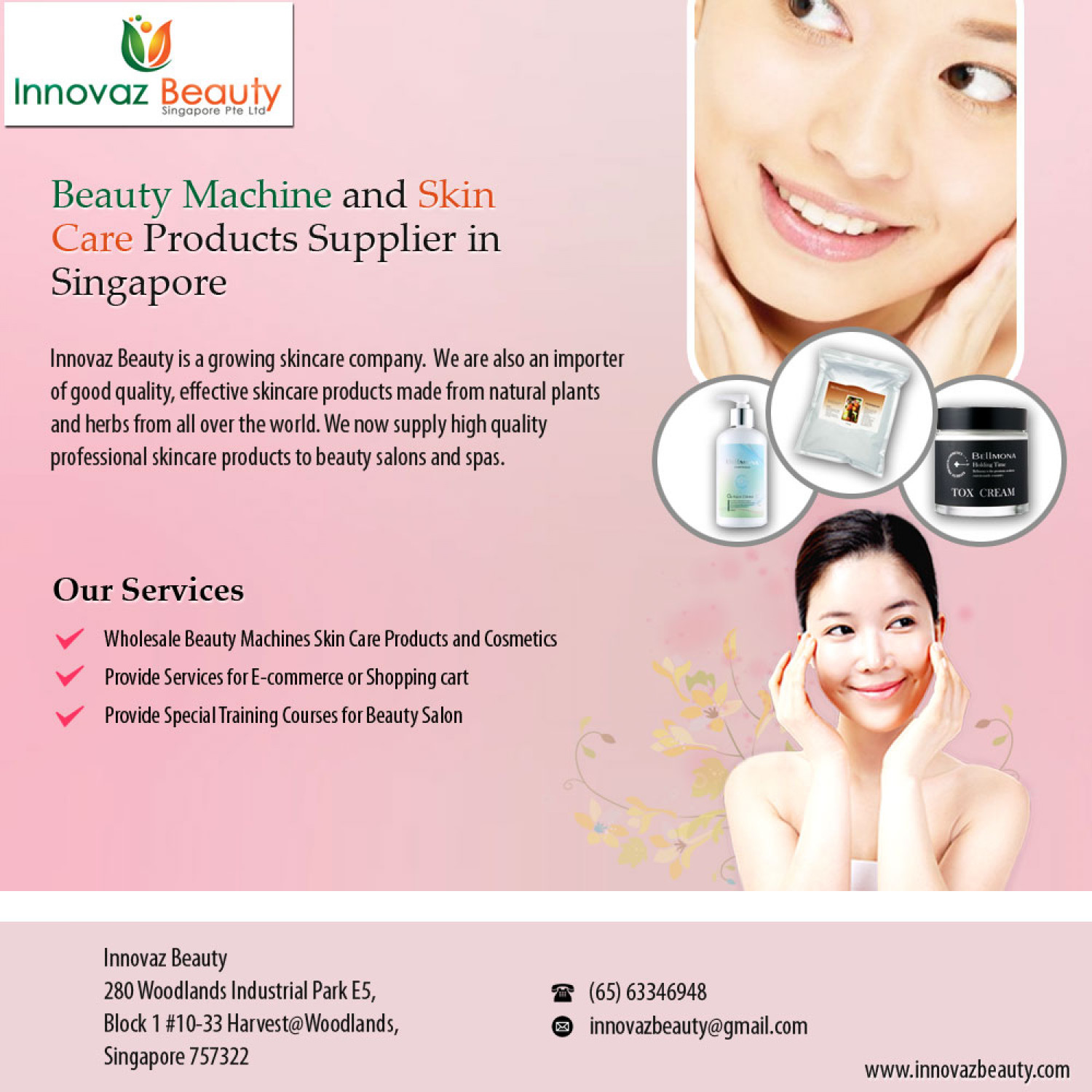 facial care industry of singapore optional extra