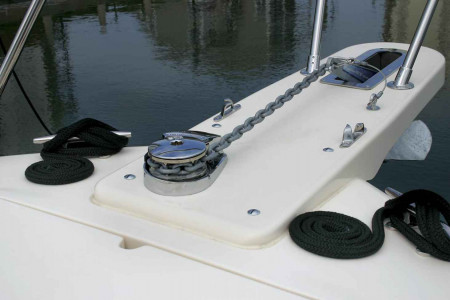 Beginner's Guide to Using Branded Anchor Windlass for Boats Infographic