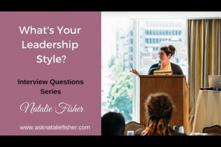 Behavioural Interview Question - What's your Leadership Style Infographic