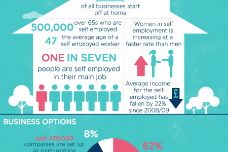 Being Self Employed: The facts Infographic