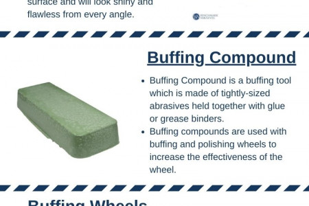 Benchmark Abrasives  Buffing Products Infographic