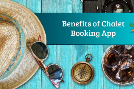 Benefits of  Chalet Booking App Infographic