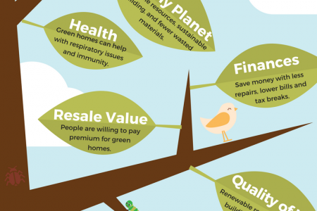 Benefits of a Green Hom Infographic