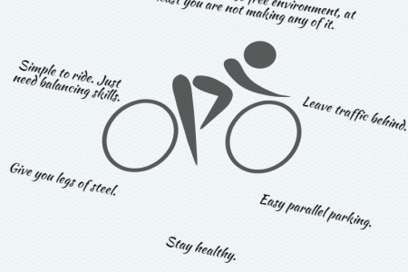 Benefits Of Biking Infographic