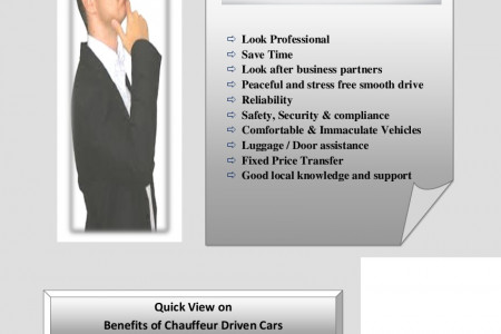 Benefits of Chauffeur Driven Car Infographic