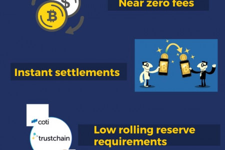 Benefits of COTI Pay Mutli Cryptocurrency Wallet App Infographic