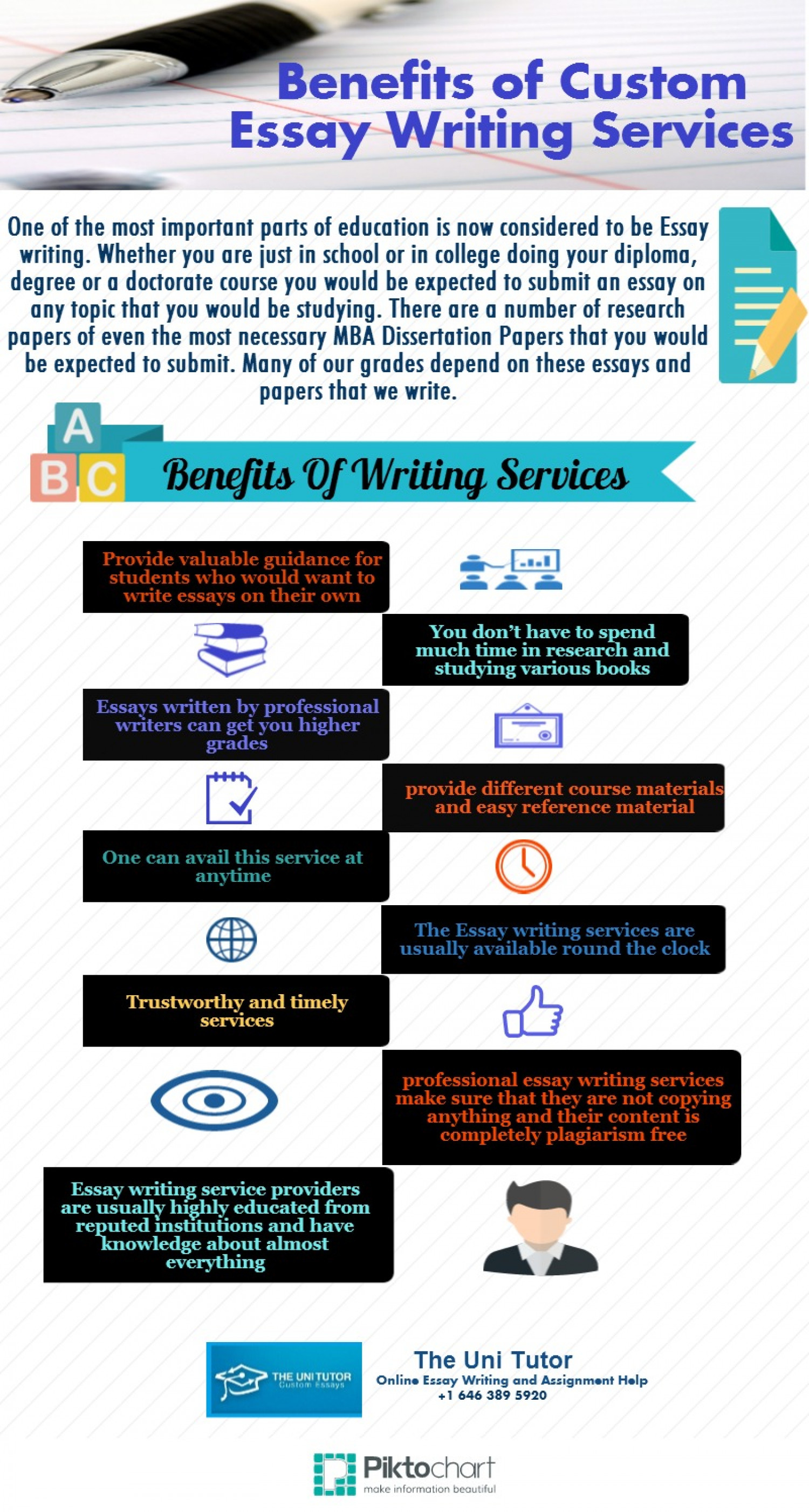 p for custom essay writing services