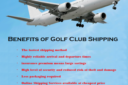 Benefits of Golf Club Shipping by Shipping Company Infographic