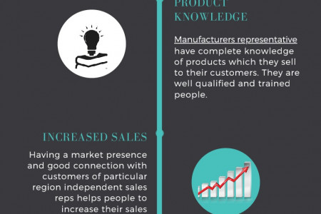 Benefits of Hiring Sales Reps Infographic