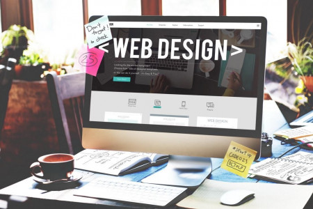 Benefits of Investing in a New Web Design Infographic
