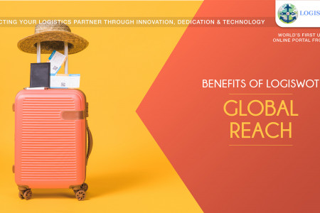 Benefits of LogiSWOT: Global Reach Infographic