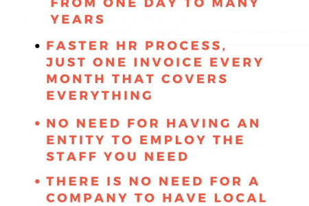 Benefits of outsourcing pay rolling services for your business Infographic