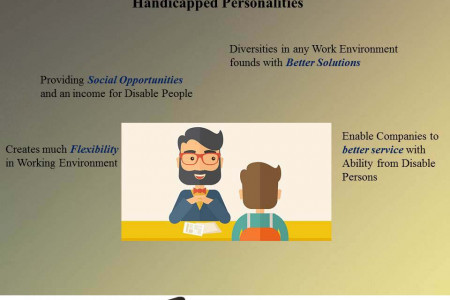 Benefits of Providing the Employments for Disable Persons | Venpa Staffing Infographic
