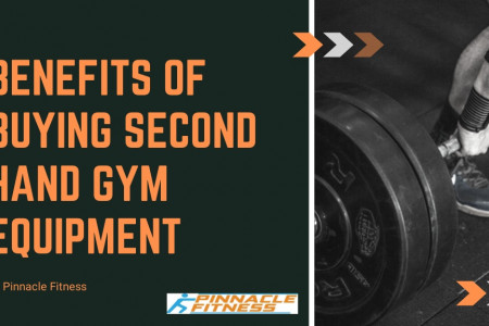 Benefits of Second Hand Gym Equipment Infographic