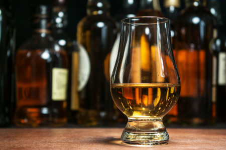 Benefits of whisky Infographic