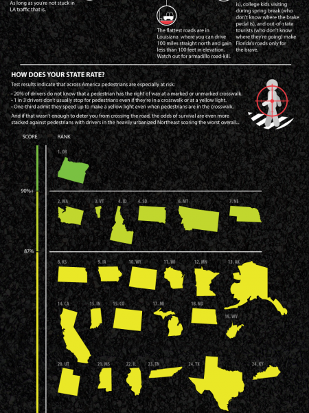 Best and Worst Drivers in The US  Infographic