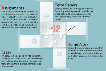 Write my homework for me in USA Infographic