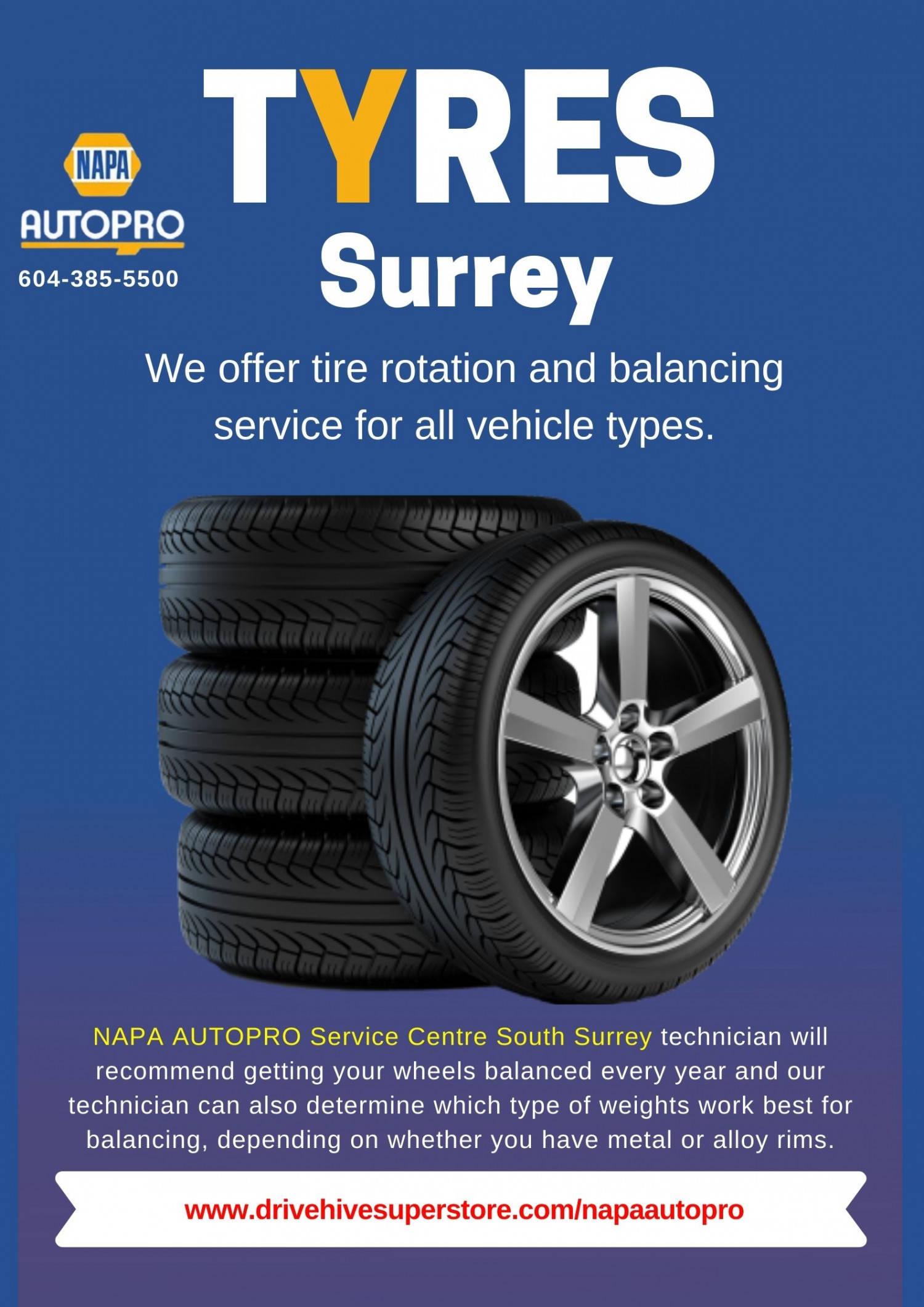 Best Automotive Shop for Tire Rotation and Wheel Balancing  Infographic