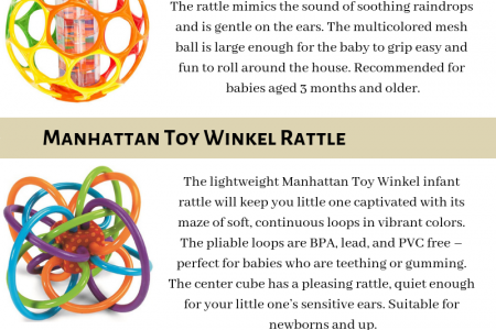 Best Baby Rattles of 2019 Infographic