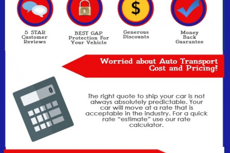 Best Car Shipping Company Infographic