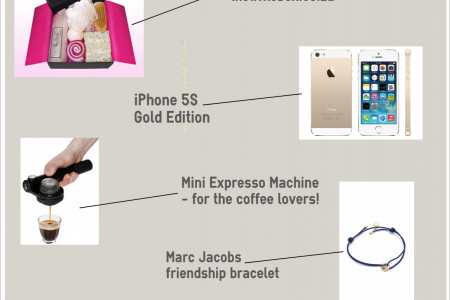 Best Christmas Presents 2013 Infographic