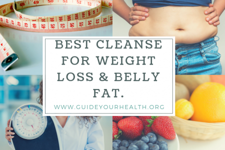 Best Cleanse For Weight Loss And Belly Fat Cover Infographic