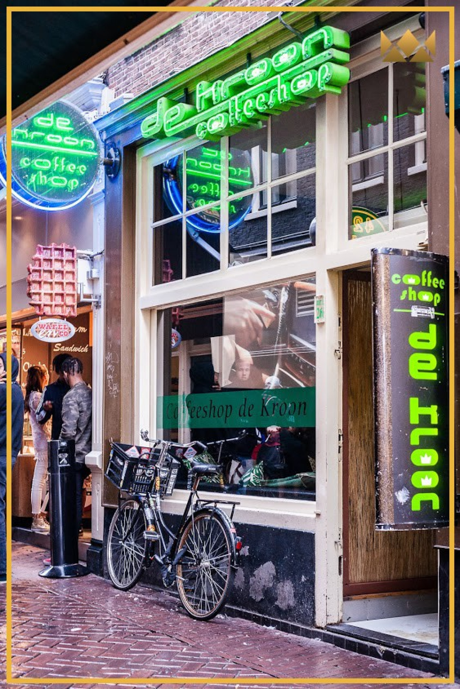 Best Coffeeshop In Amsterdam Infographic