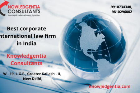 Best corporate international law firm in India Infographic