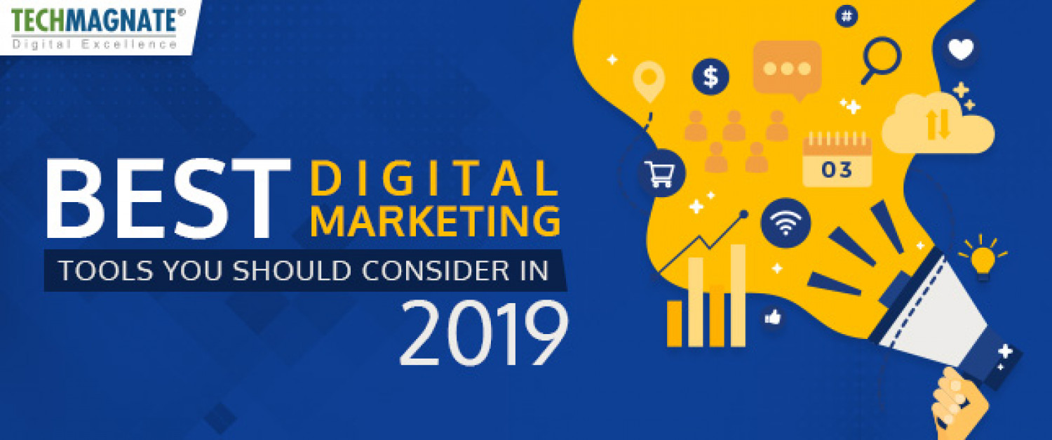 Best Digital Marketing tools in 2019 Infographic