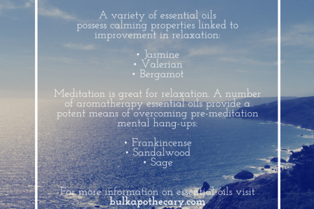 Best essential oils for relaxation Infographic