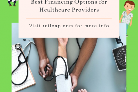 Best Financing Options for Healthcare Providers Infographic