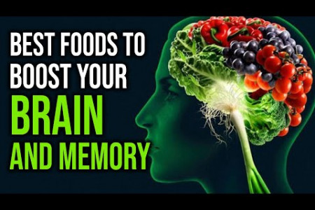 Best Foods To Boost Your Brain And Memory | How To Improve Memory | Healthy Eating Infographic